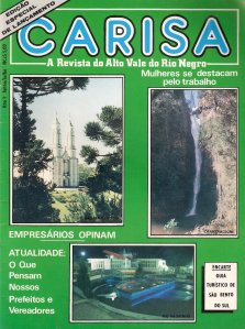 1ª Edição da Revista Carisa (Junho de 89)
