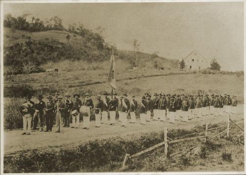 Av Argolo esquina com a Dom Pedro  em 1899