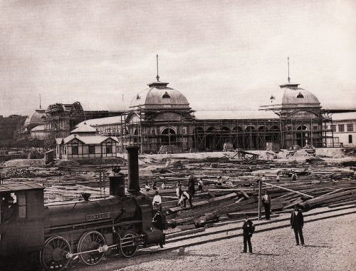 Weltausstellung_1873_bauarbeiten
